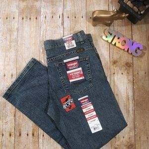 💖 Wrangler size 16H blue jeans with tag (B23)
